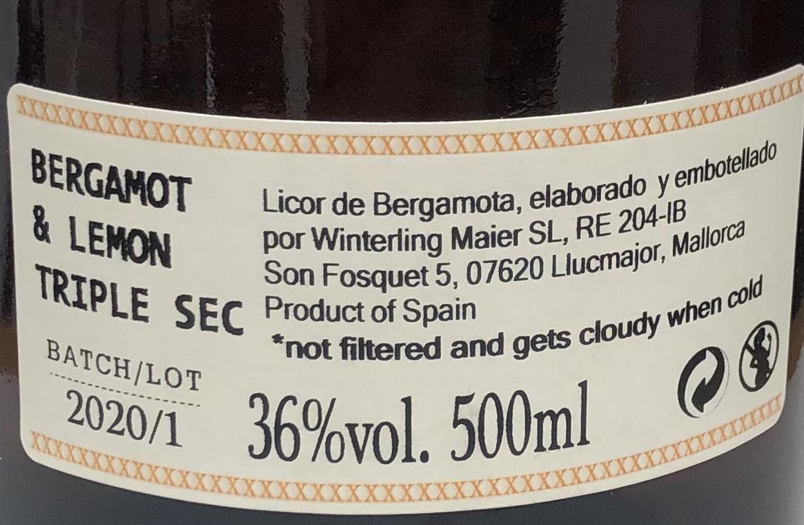 Bergamotte-Likör