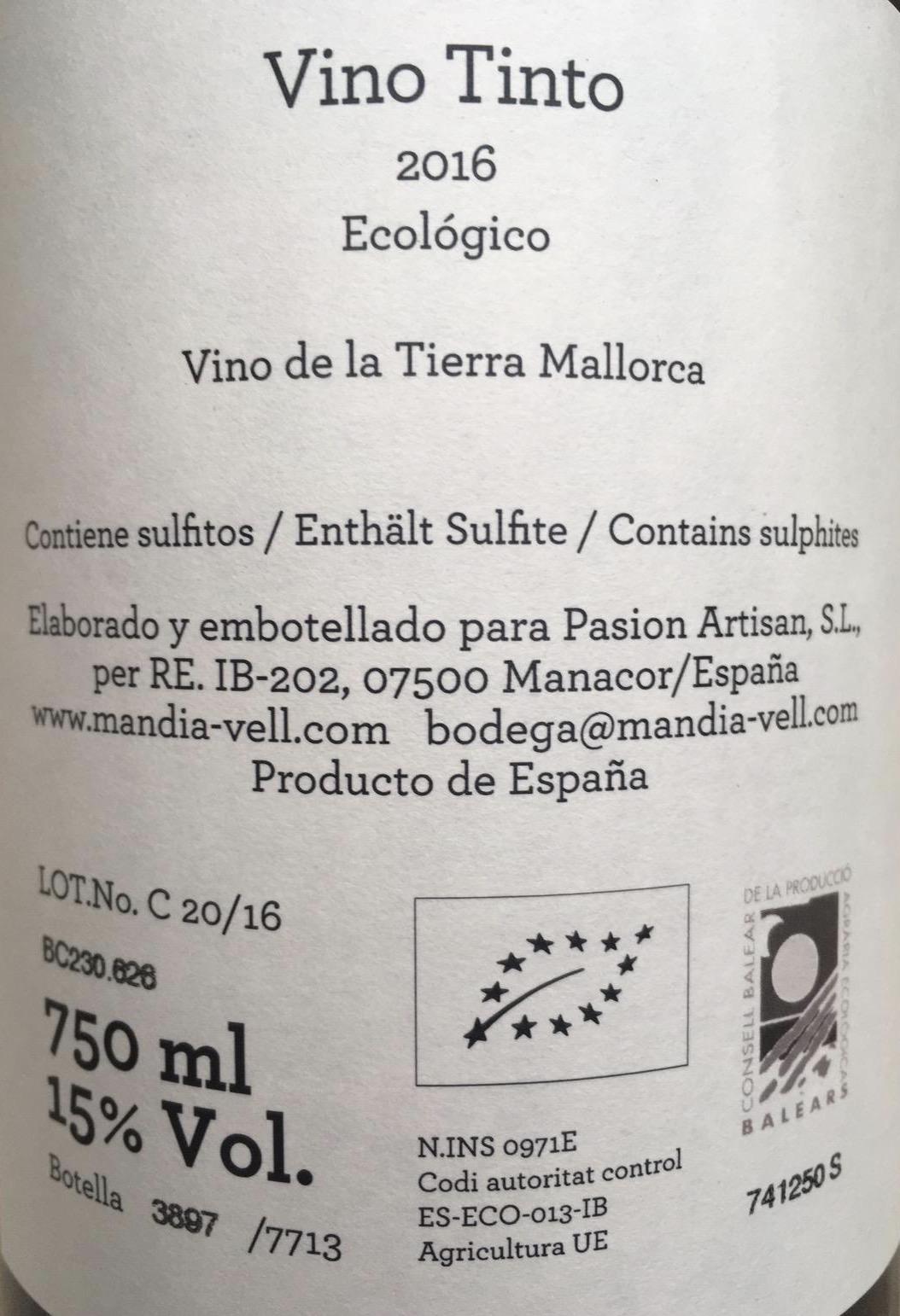 Cuvée Tinto 2016