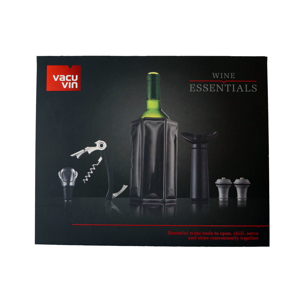 "vacu vin – Wine Essentials ""Black Edition"""