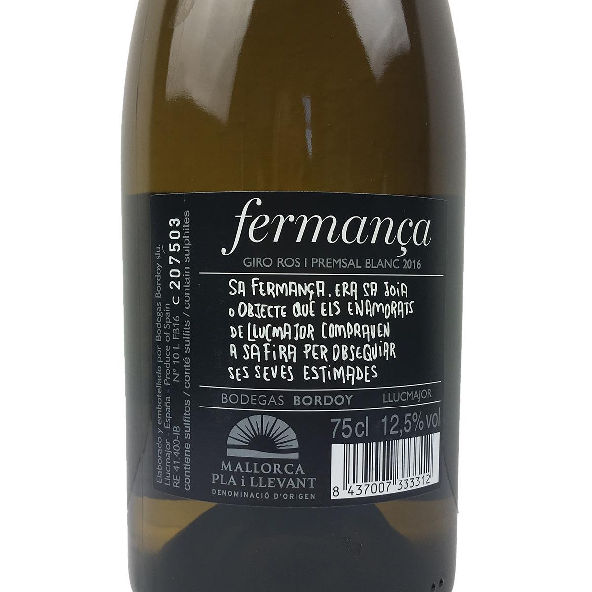 Fermanca - Blanc 2016