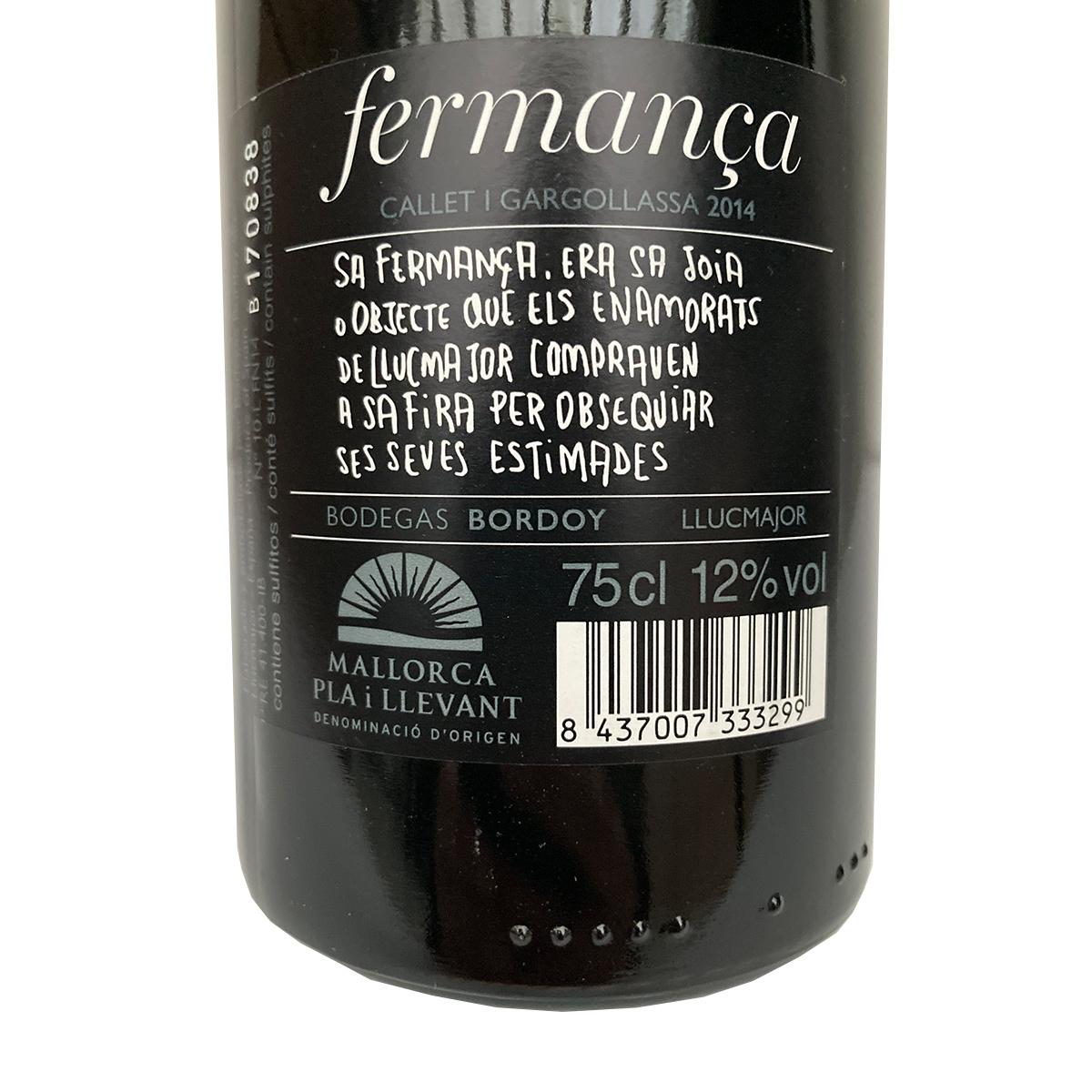 Fermanca - Negre 2014